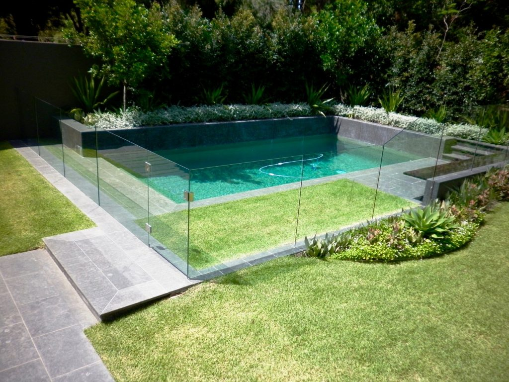 Channel Fixing Glass Pool Fencing Fx