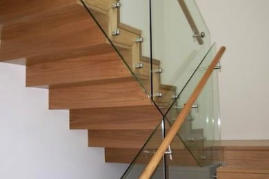 Frameless Glass Stair Balustrade