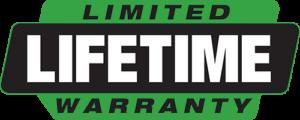 Limited Lifetime Warranty On All Workmanship